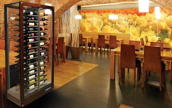 Vitrines à vin et modulaires