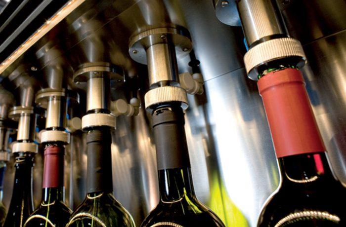 Distributeurs de vin au verre